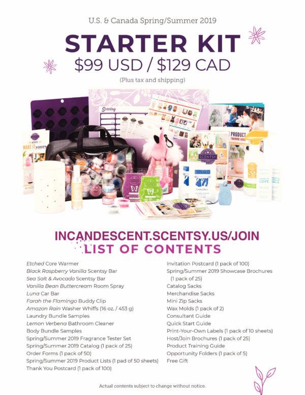 SCENTSY STARTER KIT SPRING 2019 (1)   Join Scentsy Starter Kit – Canada   October 2021   Incandescent.Scentsy.us