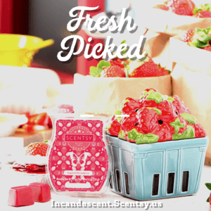 SCENTSY STRAWBERRY BASKET APRIL 2019