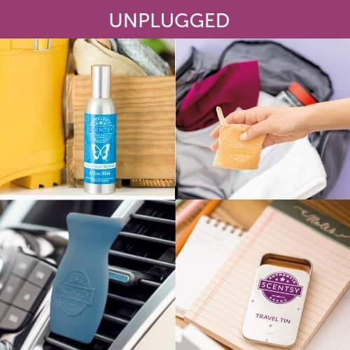 SCENTSY ON THE GO UNPLUGGED CATEGORY
