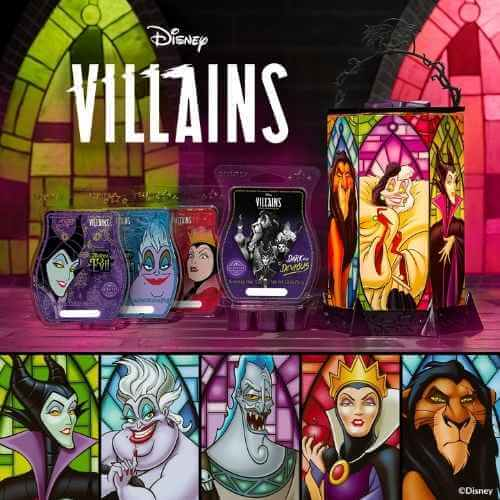 SCENTSY VILLAINS COLLECTION 1 1