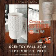 NEW! SCENTSY WALL FAN DIFFUSER | FALL 2019