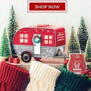 SCENTSY WARMER & SCENT OF THE MONTH NOVEMBER 2019 CHRISTMAS CAMPER