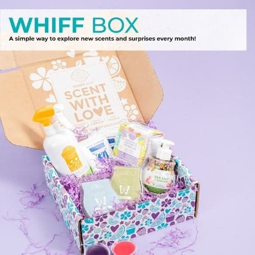 SCENTSY WHIFF BOX FALL 2019