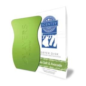 SEA SALT & AVOCADO SCENTSY DRYER DISKS
