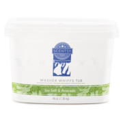 SEA SALT & AVOCADO SCENTSY WASHER WHIFFS TUB