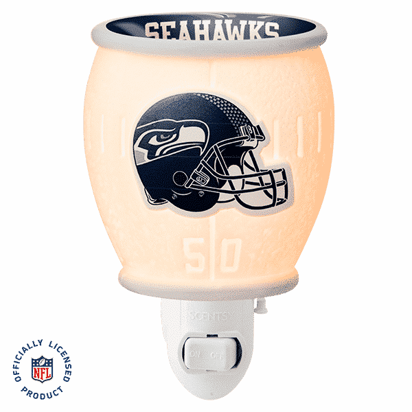 SEATTLE SEAHAWKS MINI SCENTSY WARMER
