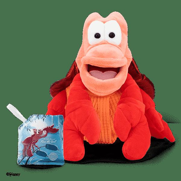 SEBASTIAN SCENTSY BUDDY FRONT | Sebastian Scentsy Buddy | The Little Mermaid