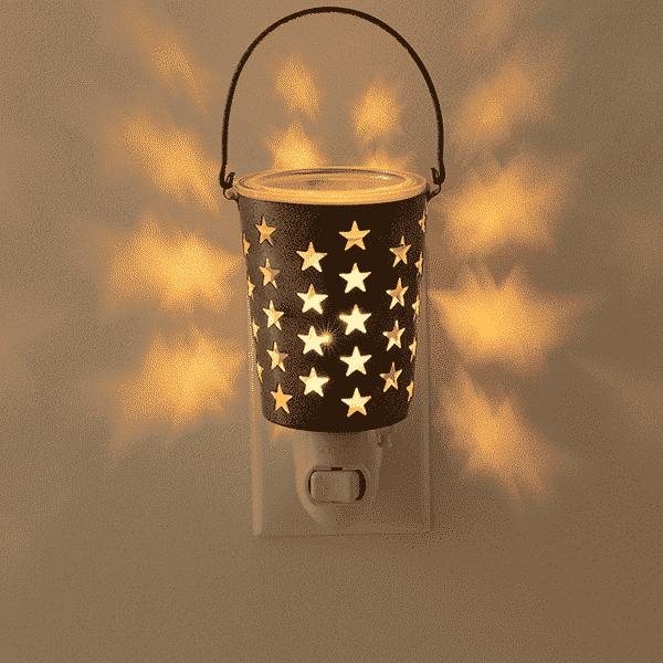 SEEING STARS MINI SCENTSY WARMER DARK