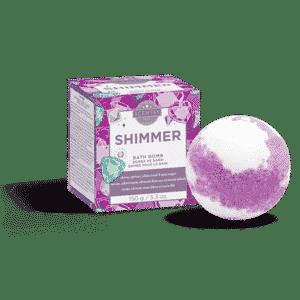 SHIMMER SCENTSY BATH BOMB