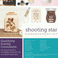 SHOOTING STAR ENCHANCEMENT KIT SCENTSY FALL 2018 (1)   NEW! Scentsy Harvest & Halloween 2018 Collection   Scentsy® Online Store   Scentsy Warmers & Scents   Incandescent.Scentsy.us