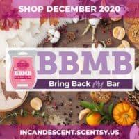 SHOP SCENTSY BRING BACK MY BAR DECEMBER 2020