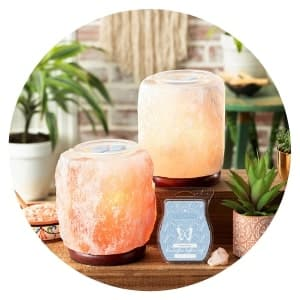 SHOP HIMALAYAN SALT LAMP SCENTSY WARMERS