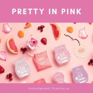 SHOP PRETTY IN PINK SCENTSY PRODUCTS INCANDESCENT