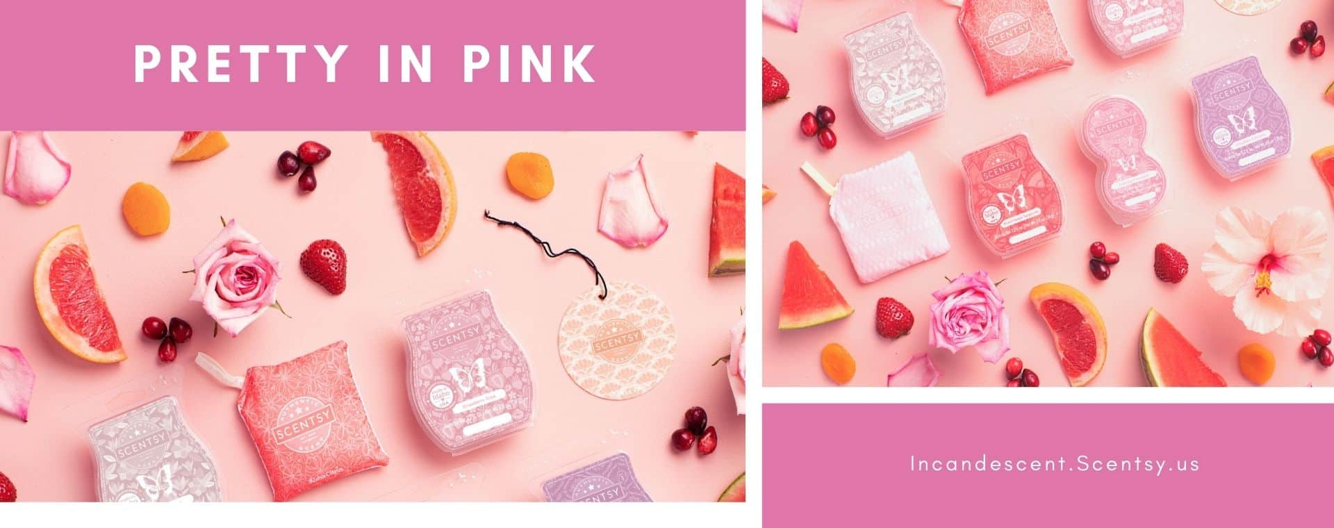 SHOP PRETTY IN PINK SCENTSY PRODUCTS
