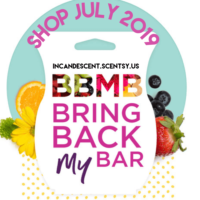 SCENTSY BRING BACK MY BAR - JULY 2019 WINNERS