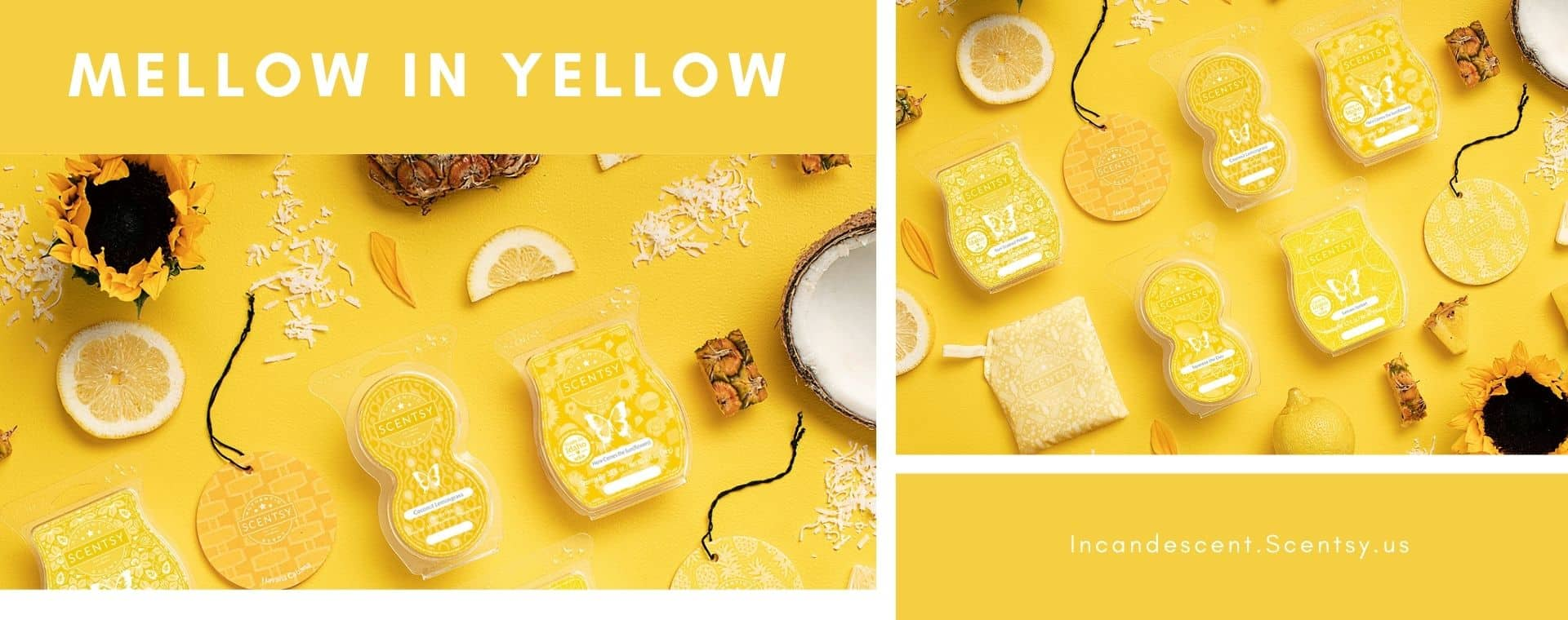 SHOP YELLOW SCENTSY PRODUCTS