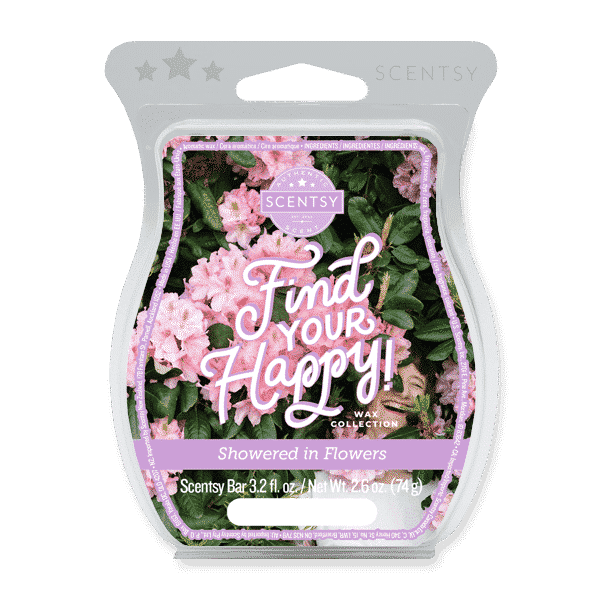 SHOWERED IN FLOWERS SCENTSY BAR | FIND YOUR HAPPY