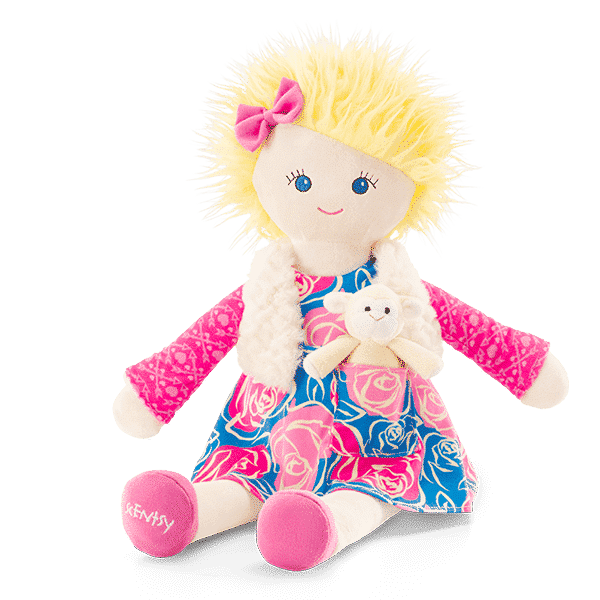 SIERRA SCENTSY FRIEND DOLL WITH SWEETIE PIE | NEW! SIERRA SCENTSY FRIEND WITH SWEETIE PIE THE LAMB MINI BUDDY | SCENTSY DOLLS | Shop Scentsy | Incandescent.Scentsy.us