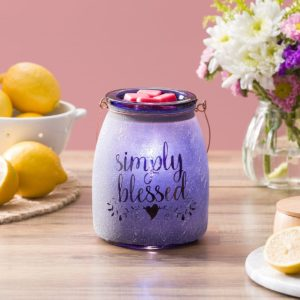 SIMPLY BLESSED SCENTSY WARMER GLOW