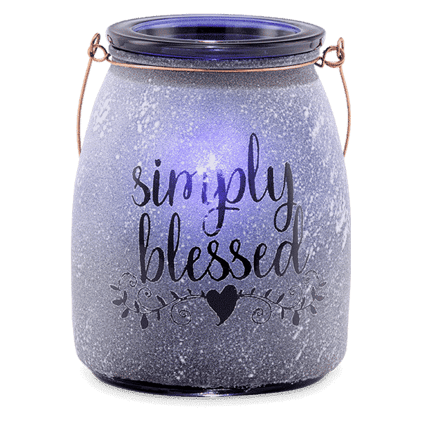 SIMPLY BLESSED SCENTSY WARMER GLOW | Simply Blessed Scentsy Warmer | Shop Scentsy | Incandescent.Scentsy.us