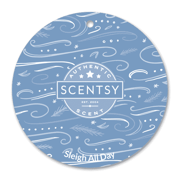 SLEIGH ALL DAY SCENTSY SCENT CIRCLE