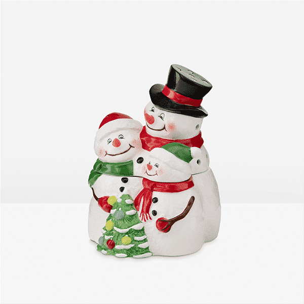SNOW MUCH LOVE SCENTSY WARMER 2020 QUARTER VIEW