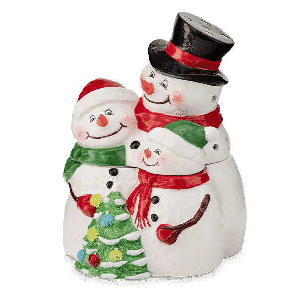 SNOW MUCH LOVE SCENTSY WARMER 34 VIEW