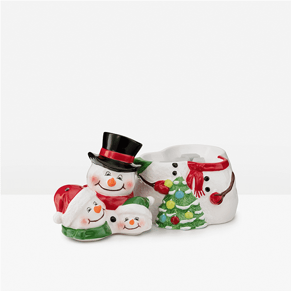 SNOW MUCH LOVE SCENTSY WARMER HEAD OFF VIEW