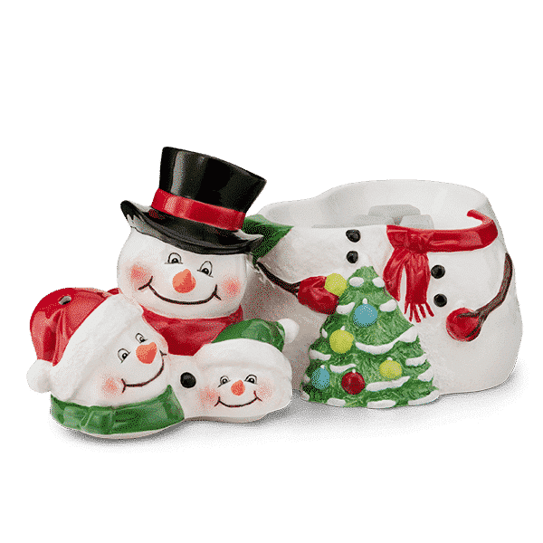 SNOW MUCH LOVE SCENTSY WARMER HEAD OFF