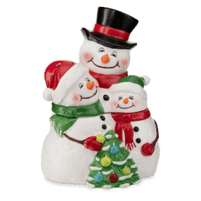 SNOW MUCH LOVE SCENTSY WARMER INCANDESCENT
