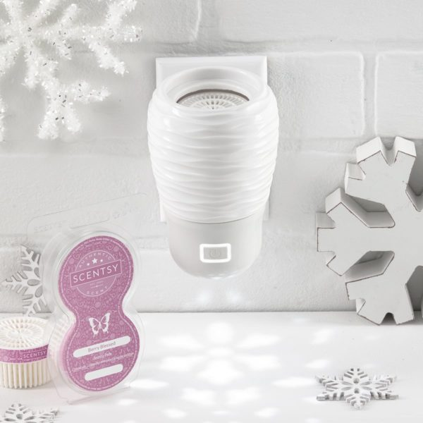 SNOWFLAKE FAN WALL DIFFUSER SCENTSY HOLIDAY