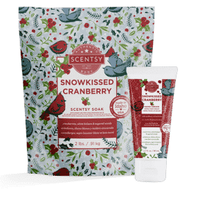 SNOWKISSED CRANBERRY SCENTSY BODY BUNDLE