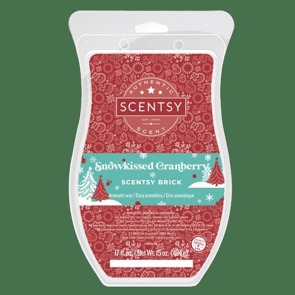SNOWKISSED CRANBERRY SCENTSY BRICK