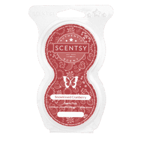 SNOWKISSED CRANBERRY SCENTSY GO PODS