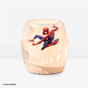 SPIDER MAN SCENTSY WARMER GLOW