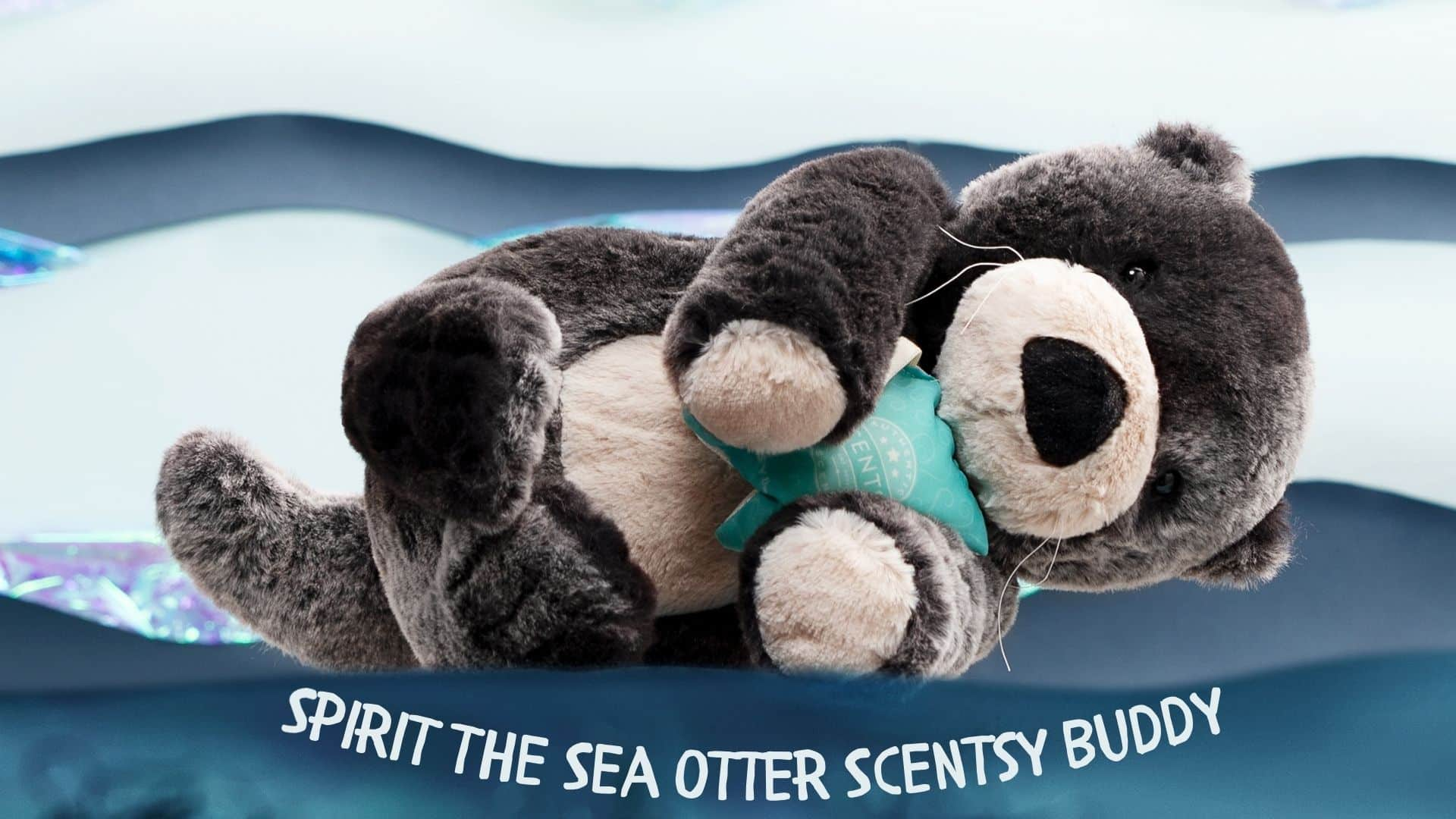 SPIRIT THE SEA OTTER SCENTSY BUDDY 2021