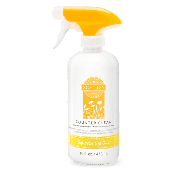 SQUEEZE THE DAY COUNTER CLEAN SCENTSY   Squeeze the Day Counter Clean   Shop Scentsy   Incandescent.Scentsy.us