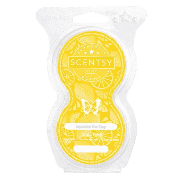 SQUEEZE THE DAY SCENTSY PODS