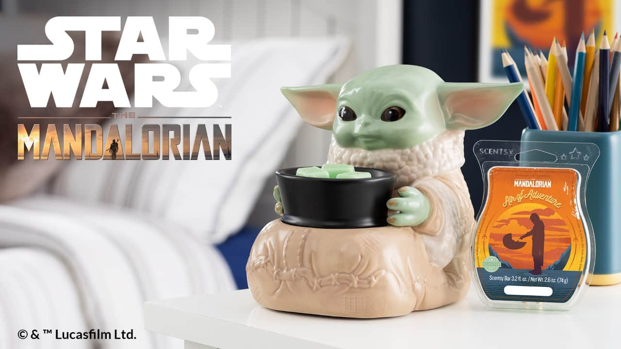 STAR WARS THE CHILD SCENTSY WARMER