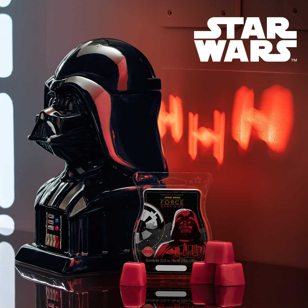 DARTH VADER SCENTSY WARMER STAR WARS