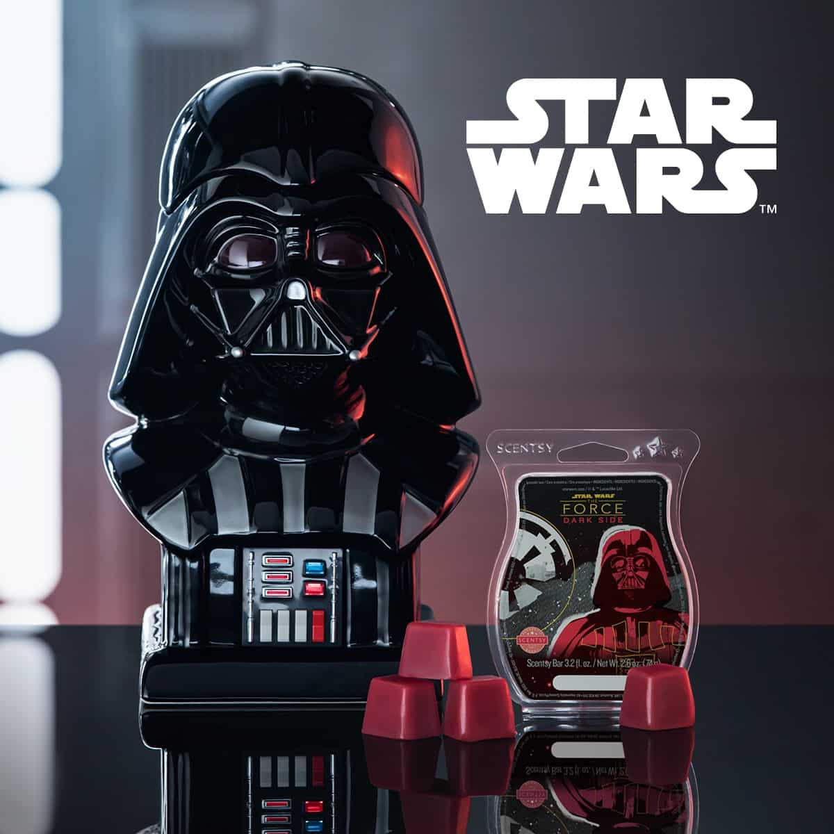 STAR WARS SCENTSY WARMER & DARK FORCE BAR