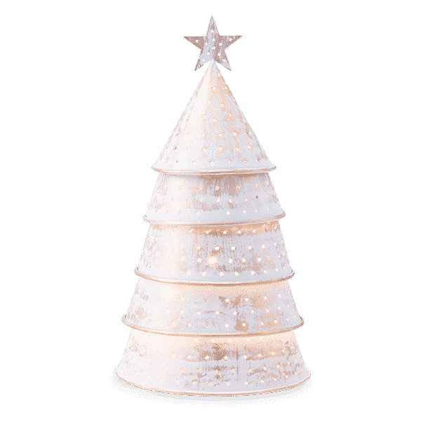 STARRY CHRISTMAS TREE SCENTSY WARMER 1