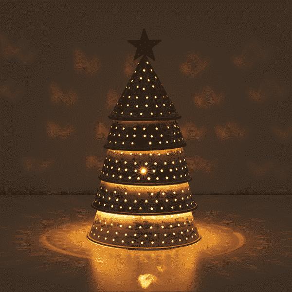 STARRY CHRISTMAS TREE SCENTSY WARMER GLOW