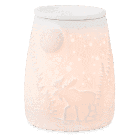 STARRY FRONTIER SCENTSY WARMER GLOWING