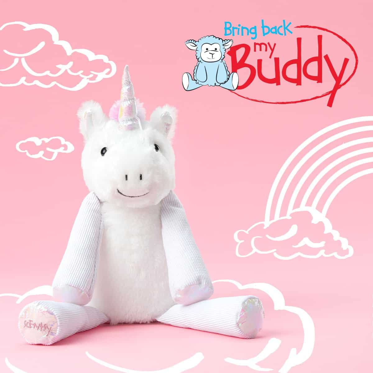 STELLA THE UNICORN SCENTSY BRING BACK MY BUDDY