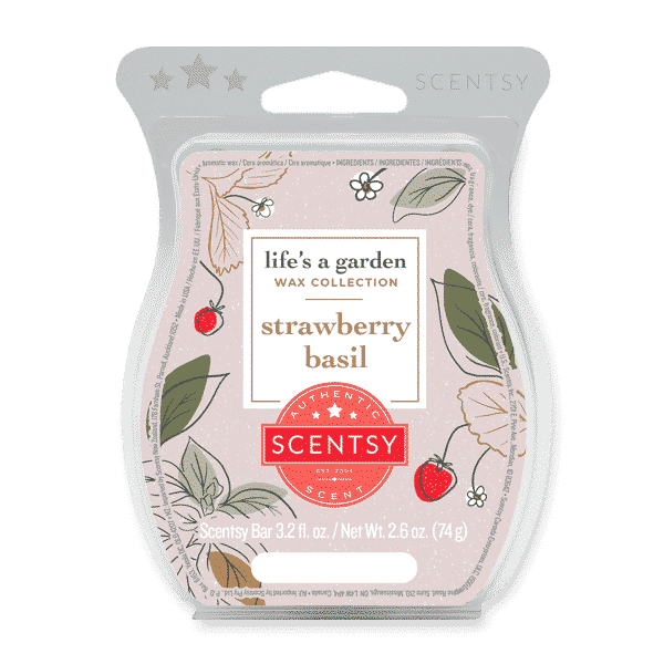 STRAWBERRY BASIL SCENTSY BAR