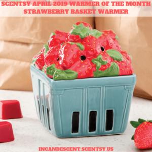 STRAWBERRY BASKET SCENTSY WARMER