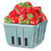 STRAWBERRY BASKET SCENTSY WARMER