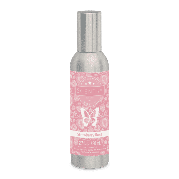 STRAWBERRY ROSE SCENTSY ROOM SPRAY