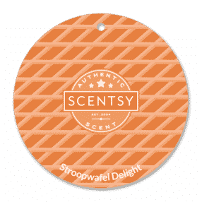 STROOPWAFEL DELIGHT SCENTSY SCENT CIRCLE